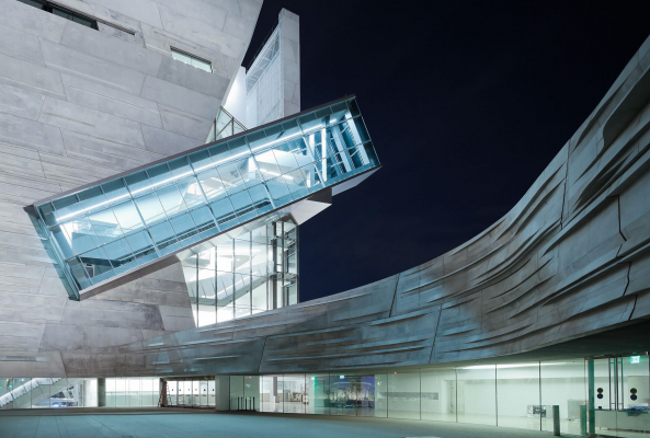 The newly-opened Perot Museum of Nature and Science in Dallas