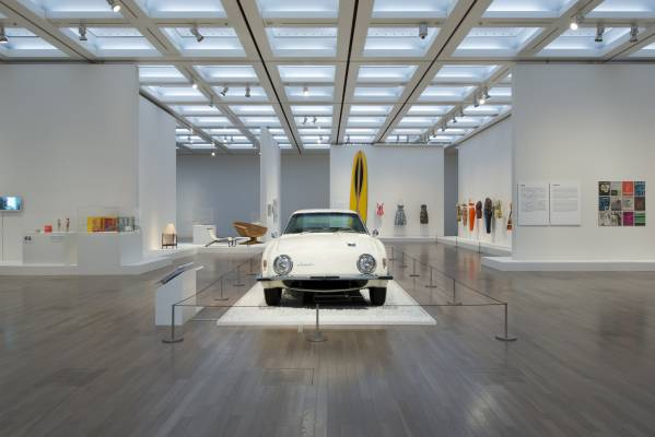Head down to Tokyo's National Art Center to see the best of Californian culture