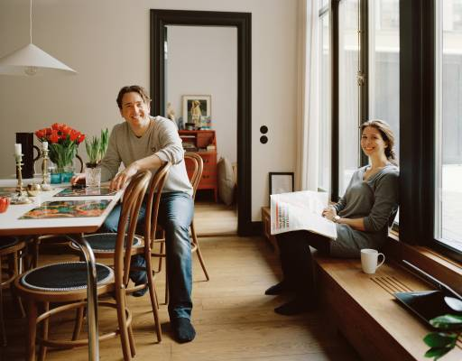 Rickard Billing and Sarah Feinberg