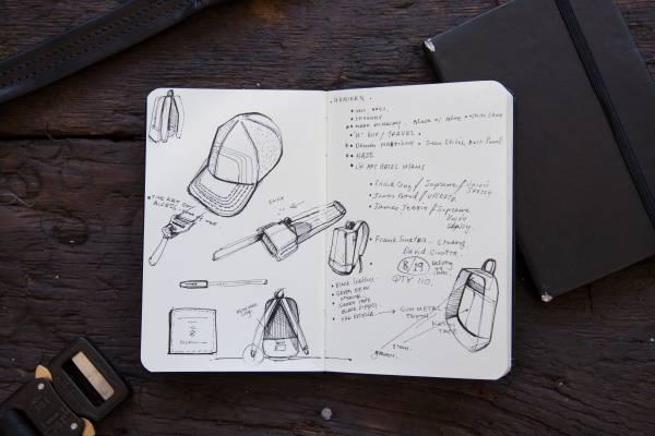 A peak inside Spencer's notebook