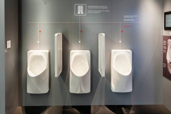 Laufen's urinals