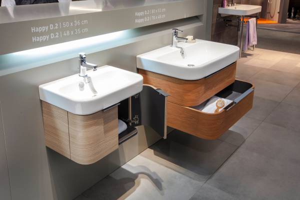 Duravit's Happy D.2 line won the award for best bathroom series