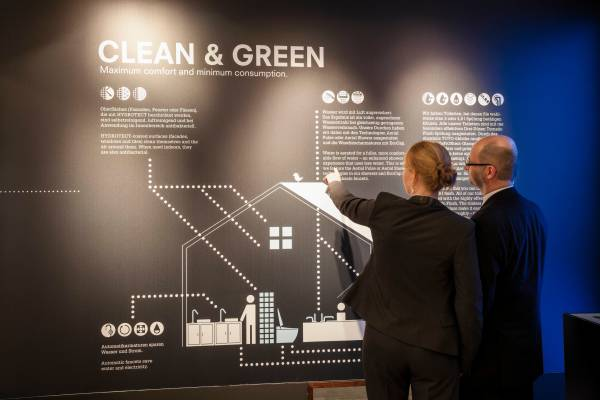Clean and green is a main topic at ISH 2013
