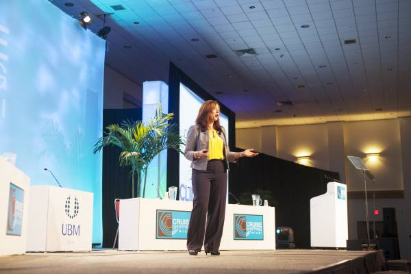 Cruise Lines International Association president and CEO Christine Duffy
