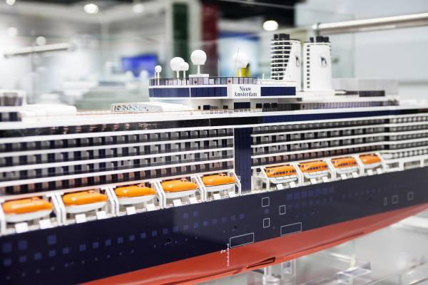 Fincantieri ship 'Nieuw Amsterdam'