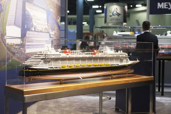 Meyer Werft's ship the 'Disney Dream'
