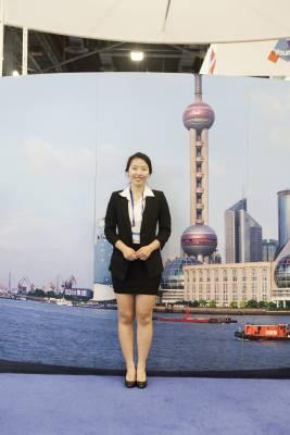A Chinese cruise terminal representative