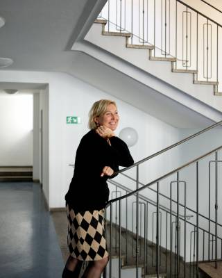 Katharina Knäusl, who oversees the selection process for residents