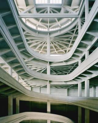 Interior of the Lingotto factory