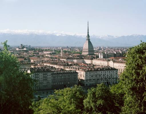 View with the Mole Antonelliana