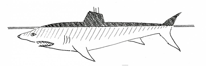 Shark submarines
