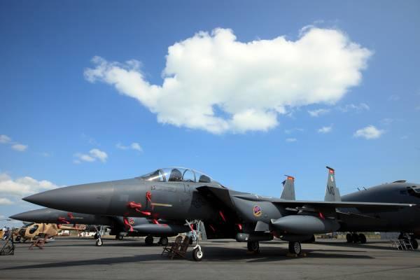 USAF Boeing F-15 Eagles