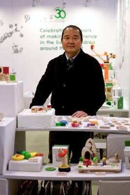 Vitool Viraponsaven, president of Thailand's Plan Toys