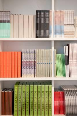 Catalogue of books at the Gagosian in Hong Kong