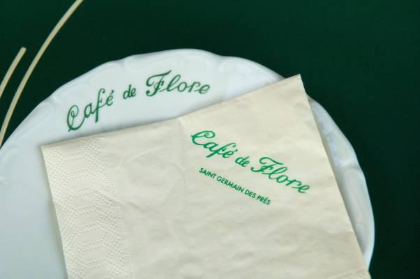 Café de Flore branding