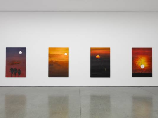 Stop by the White Cube gallery in London's Bermondsey to see Friedrich Kunath's I'm Running Out of World show