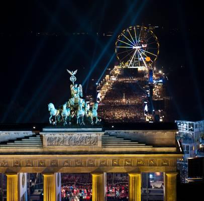 Berlin's Silvester celebration