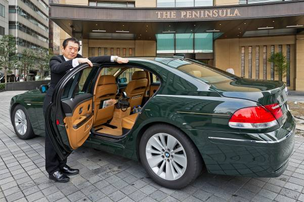 31. The Peninsula's BMWs