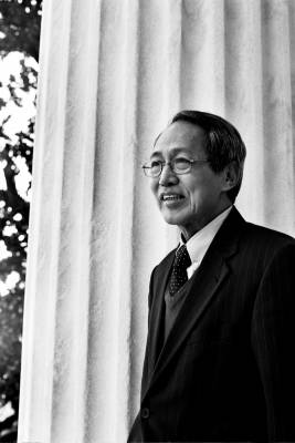 Dr Sein Win, Prime minister, the National Coalition Government of the Union of Burma, the government in exile of Burma. EXILED IN: Washington DC