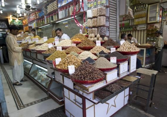 Spice seller, Khari Baoli