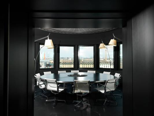 The boardroom with Eames chairs