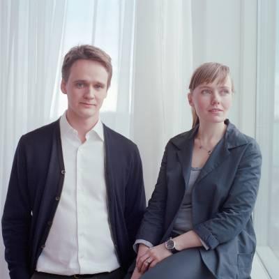 Baldur Mar, fund manager of the Björk fund, and wife Svanhildur Sigurðardóttir, Audur's office manager