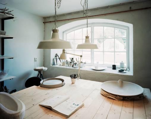 Camilla Jensen's studio