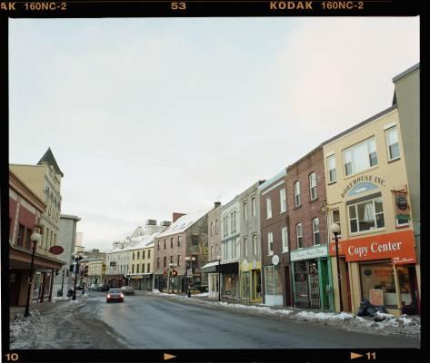 Water Street, the main drag in St John's