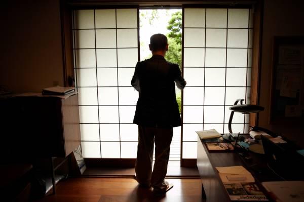 Shinichiro Ogata in his Simplicity HQ in Tokyo