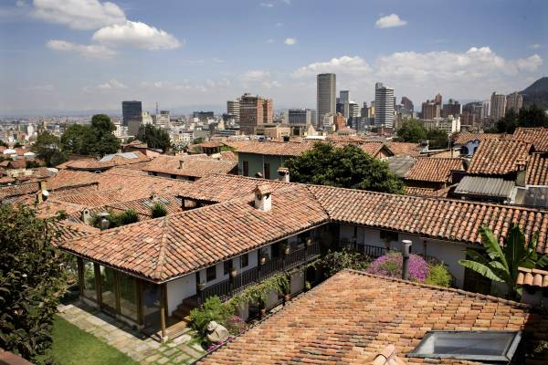 View over La Candelaria