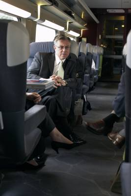 US federal railway administrator Joe Szabo