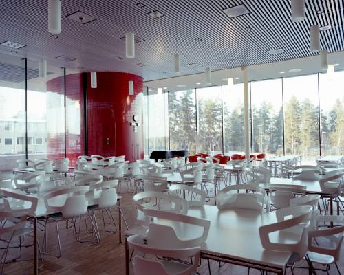 Cafeteria with Italian Alias chairs
