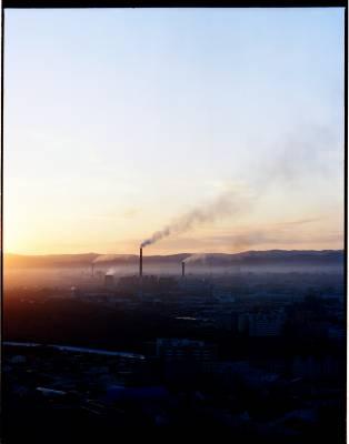 Ulan Bator's Power Station 3 with the 'ger' suburbs beyond