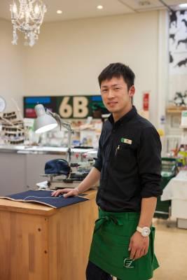 Jewellery repair man Kazuya Fujisaku