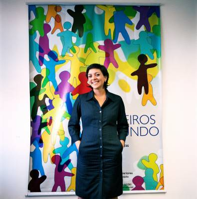 Adriana Telles Ribeiro who works in the undersecretariat for Brazilian communities abroad