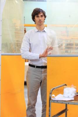 CIR executive director Julien Pruvost