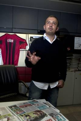 Kaan Bora, editor at Fanatik magazine