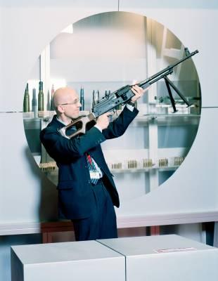 PKM lightweight machine gun