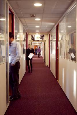 The corridors of 'Paris Match'