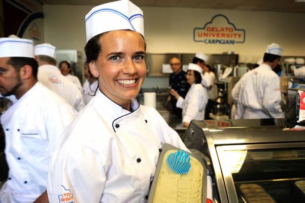 Zürich-based student Maren Schaefer shows off her first batch