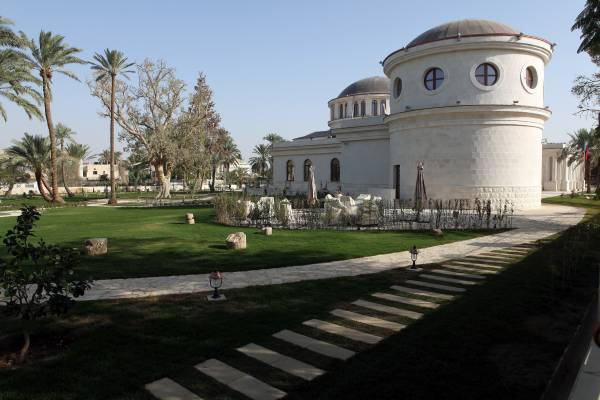 New Russian museum in Jericho