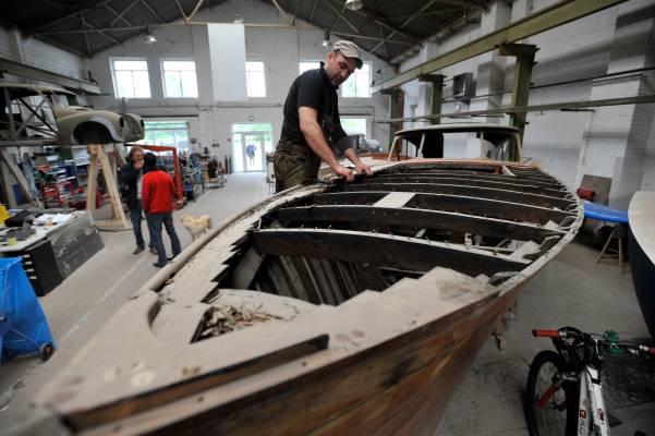 Berlin shipyard Klink & Kruger