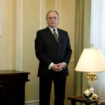 Foreign minister Sergei Martynov