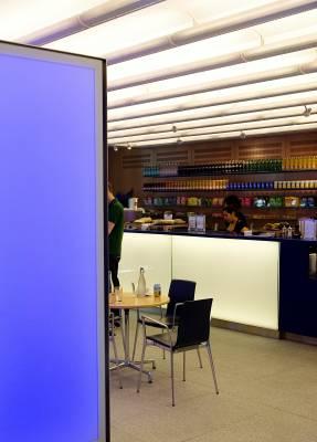 Café at the headquarters