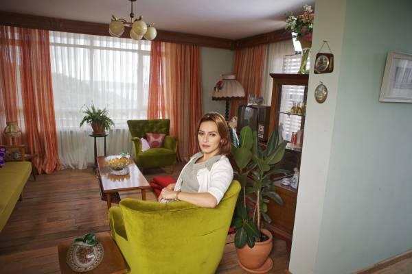 Actress Ayça Bingöl