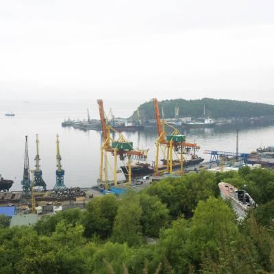 Docks at Petropavlovsk