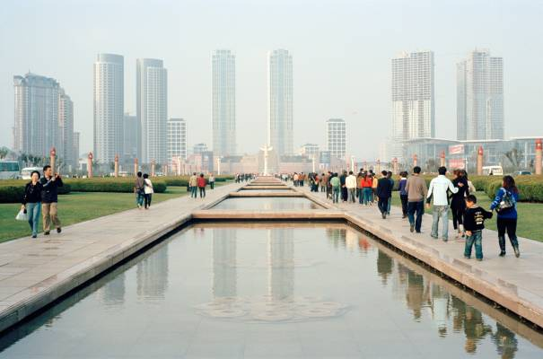Xinghai Square, the largest public square in Asia