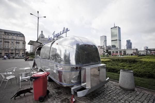 Diner van in Warsaw