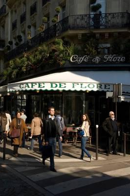 The café enjoys a perfect corner spot