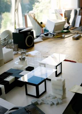 Studio where models are built